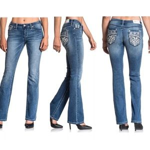 AFFLICTION Women's Denim Jeans JADE FLEUR ARIZONA